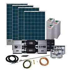 Phaesun Energy Generation Kit Solar Rise Five 6Kw/48V